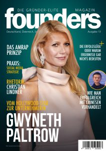founders Magazin Gwyneth Paltrow
