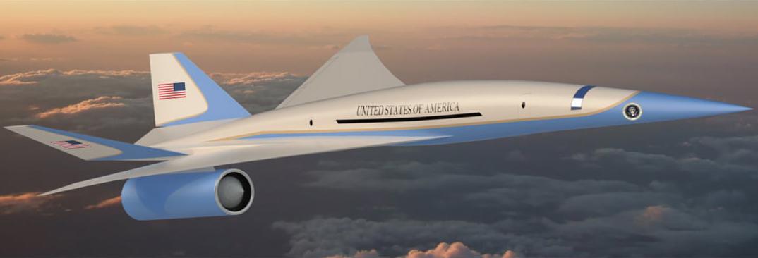 Exosonic: Eine Million für überschallschnelle Air Force One
