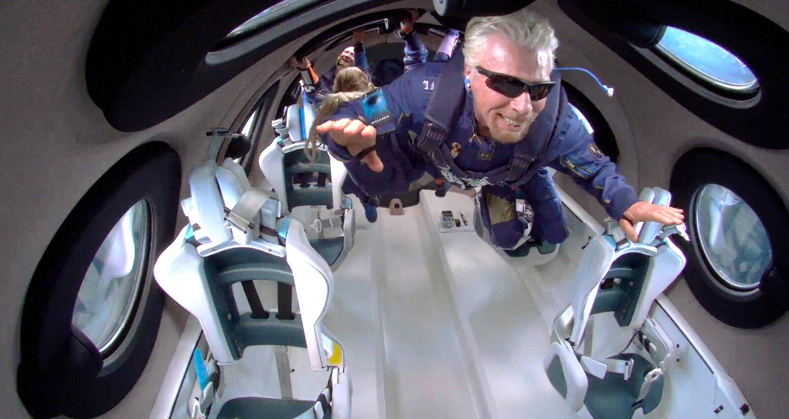 Die Ära des Weltraumtourismus beginnt: Branson vor Bezos im All