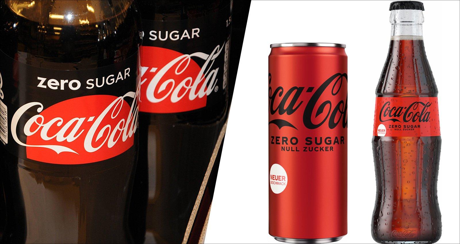 Schmeckt's besser? Neue Rezeptur für Coke Zero Sugar