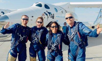 Bransons All-Flug treibt Virgin Galactic-Aktien in die Höhe